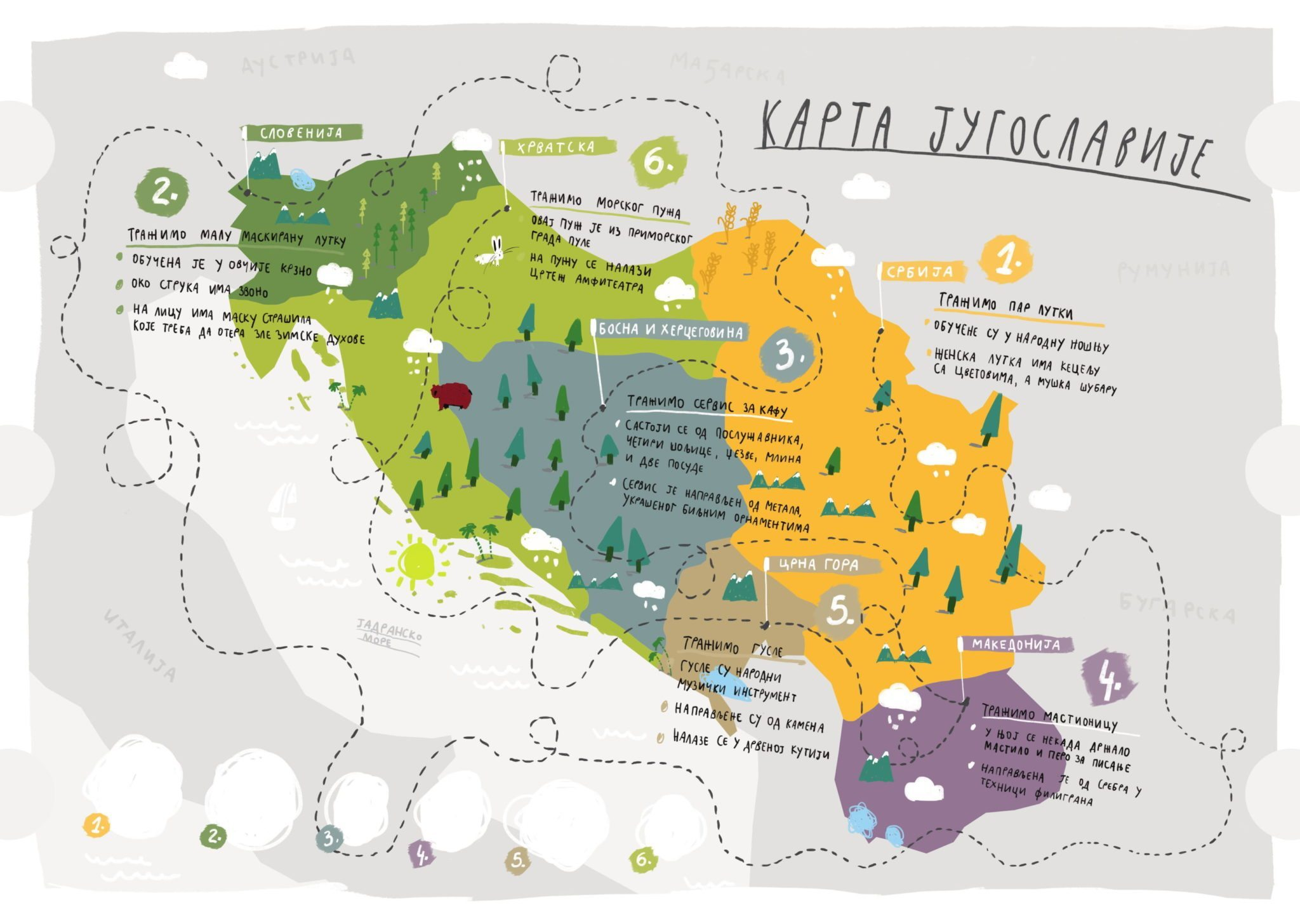 mapa jugoslavije Muzej Jugoslavije mapa jugoslavije